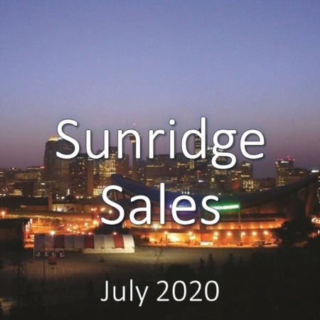 Sunridge Housing Market Update July 2020