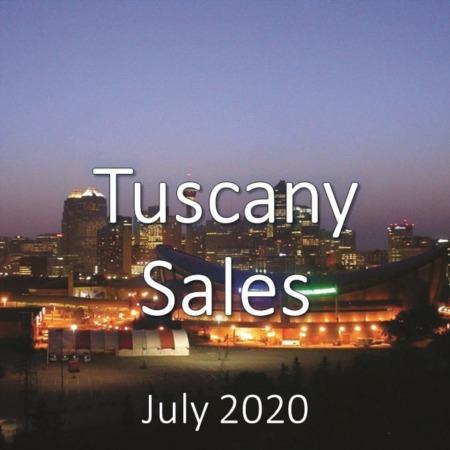 Tuscany Housing Market Update July 2020