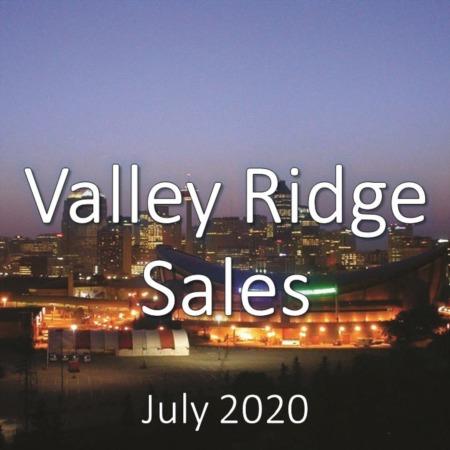 Valley Ridge Housing Market Update July 2020