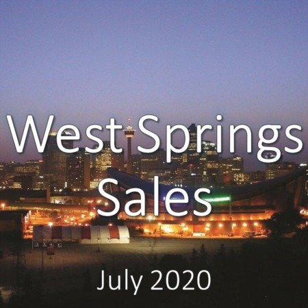 West Springs Housing Market Update July 2020