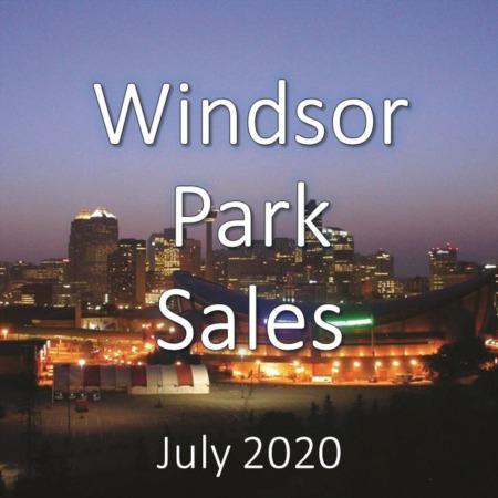 Windsor Park Housing Market Update July 2020