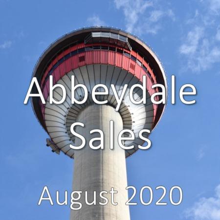 Abbeydale Housing Market Update August 2020