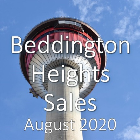 Beddington Heights Housing Market Update August 2020