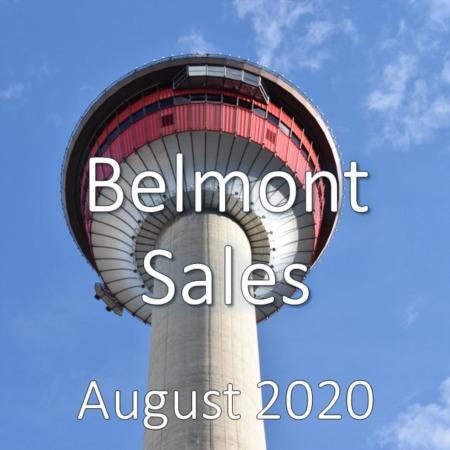 Belmont Housing Market Update August 2020