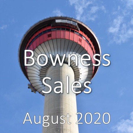 Bowness Housing Market Update August 2020