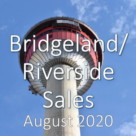 Bridgeland/Riverside Housing Market Update August 2020