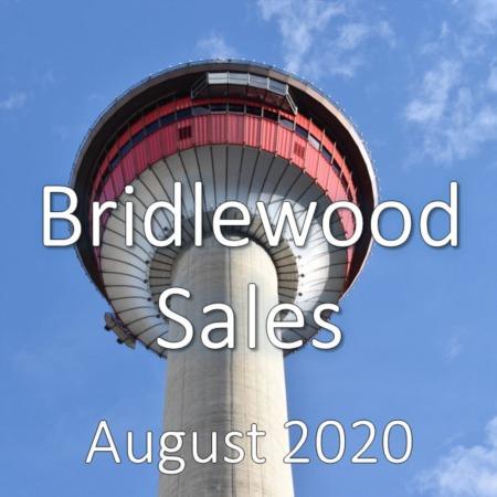 Bridlewood Housing Market Update August 2020