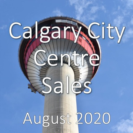 Calgary City Centre Housing Market Update August 2020