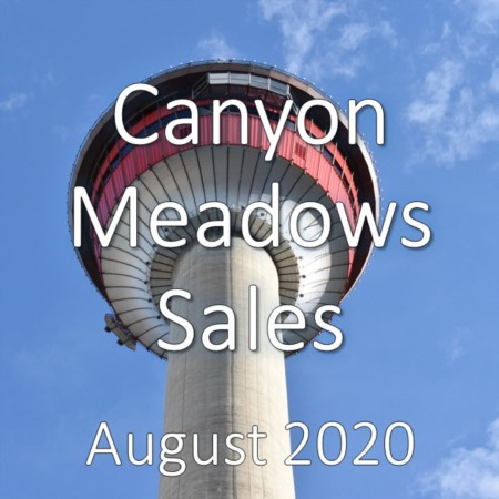 Canyon Meadows Housing Market Update August 2020