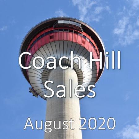 Coach Hill Housing Market Update August 2020
