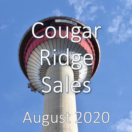 Cougar Ridge Housing Market Update August 2020
