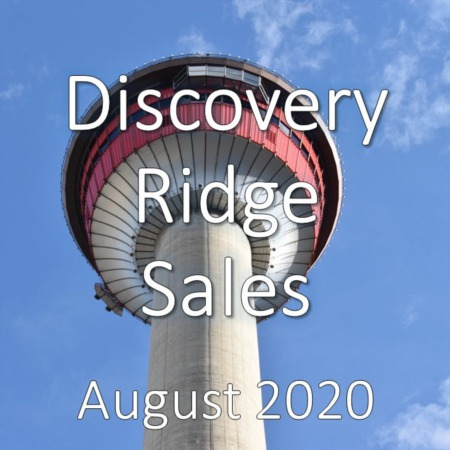 Discovery Ridge Housing Market Update August 2020