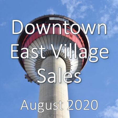 Downtown East Village Housing Market Update August 2020