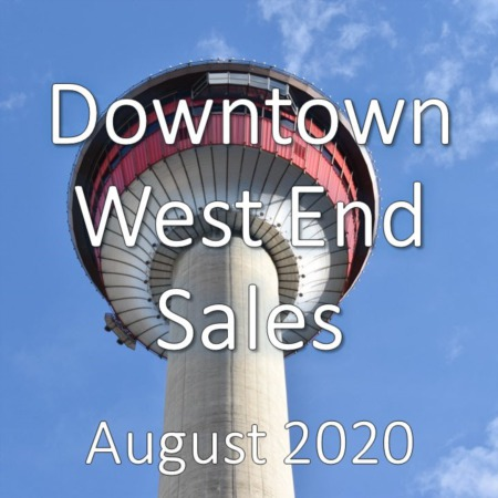Downtown West End Housing Market Update August 2020