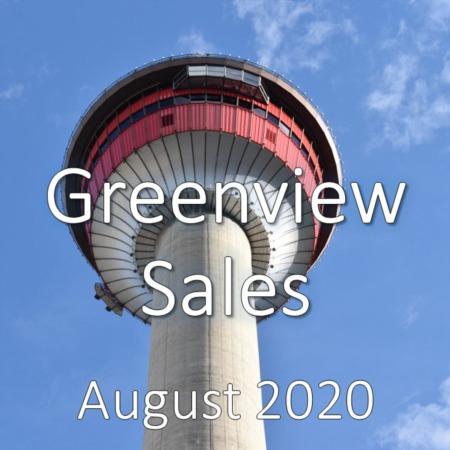 Greenview Housing Market Update August 2020