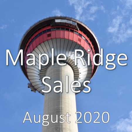 Maple Ridge Housing Market Update August 2020