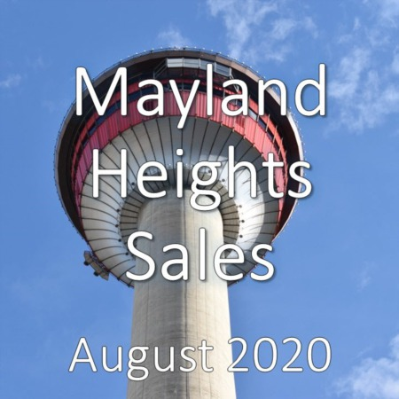 Mayland Heights Housing Market Update August 2020