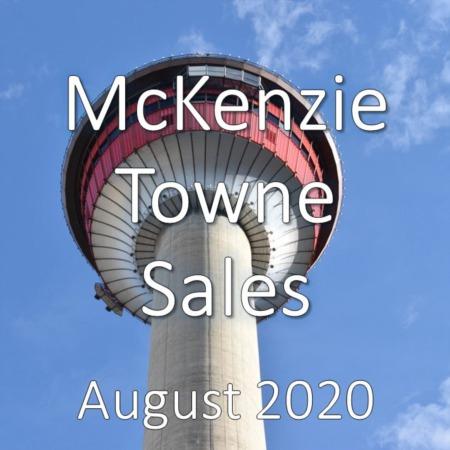 McKenzie Towne Housing Market Update August 2020