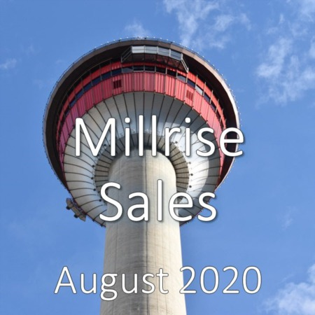 Millrise Housing Market Update August 2020