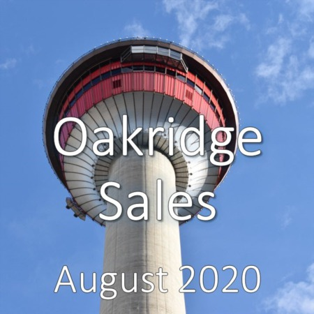 Oakridge Housing Market Update August 2020