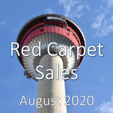 Red Carpet Housing Market Update August 2020