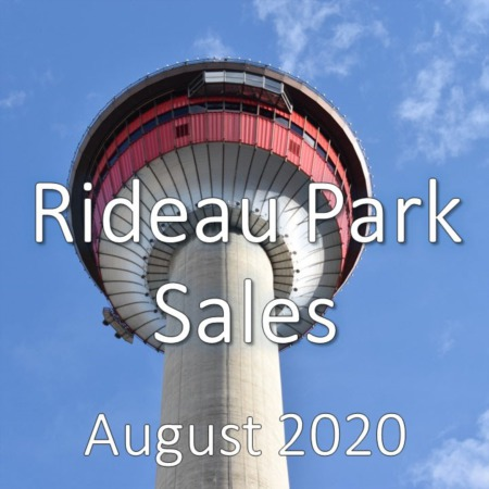 Rideau Park Housing Market Update August 2020