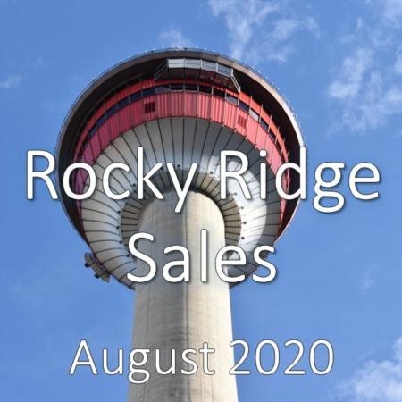 Rocky Ridge Housing Market Update August 2020