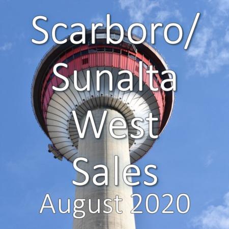 Scarboro/Sunalta West Housing Market Update August 2020