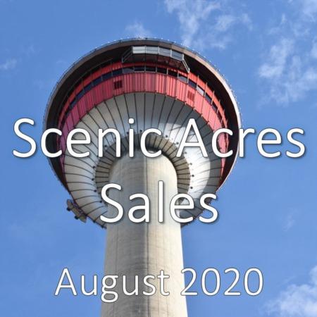 Scenic Acres Housing Market Update August 2020