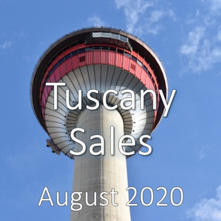 Tuscany Housing Market Update August 2020