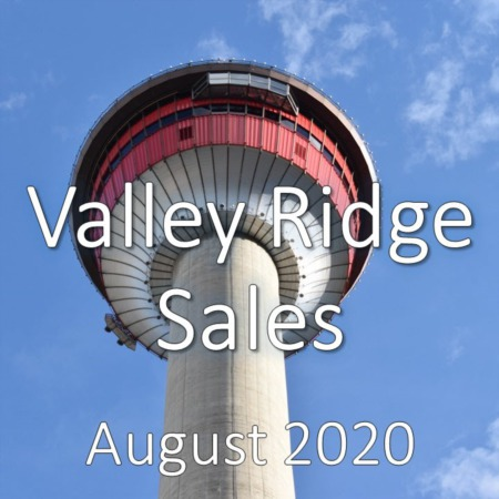 Valley Ridge Housing Market Update August 2020