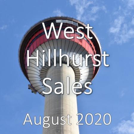 West Hillhurst Housing Market Update August 2020
