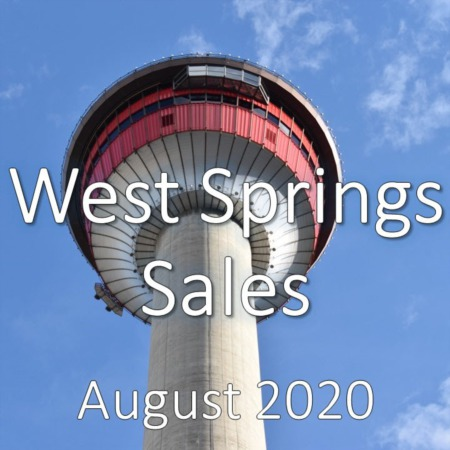 West Springs Housing Market Update August 2020