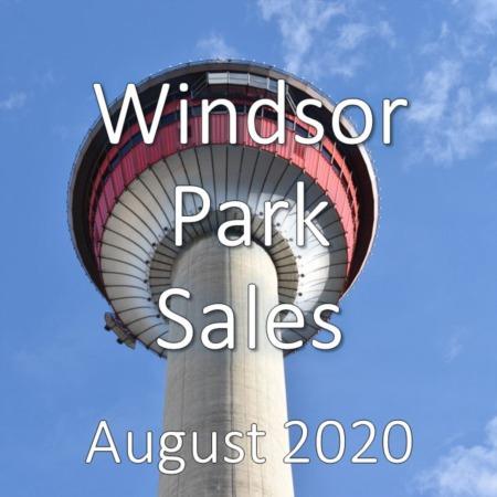 Windsor Park Housing Market Update August 2020