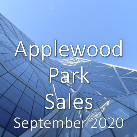 Applewood Park Housing Market Update September 2020