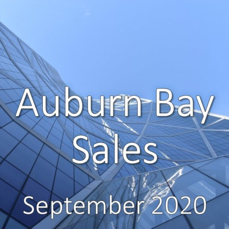Auburn Bay Housing Market Update September 2020