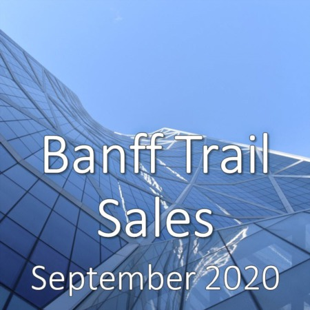 Banff Trail Housing Market Update September 2020