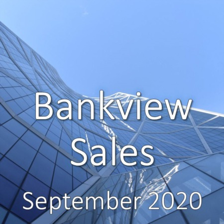 Bankview Housing Market Update September 2020