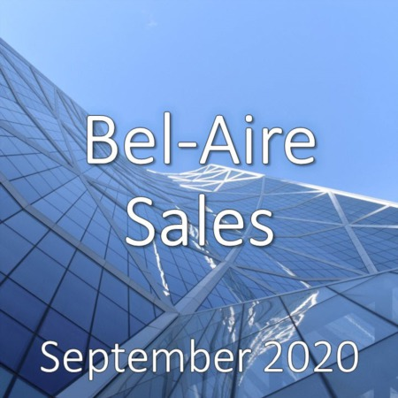 Bel-Aire Housing Market Update September 2020