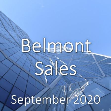 Belmont Housing Market Update September 2020
