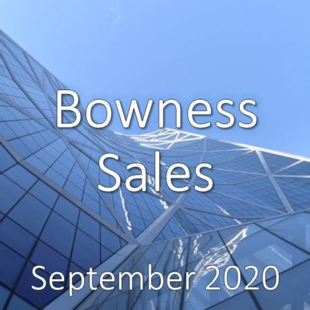 Bowness Housing Market Update September 2020