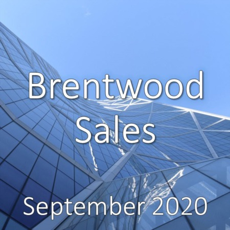 Brentwood Housing Market Update September 2020