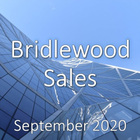 Bridlewood Housing Market Update September 2020