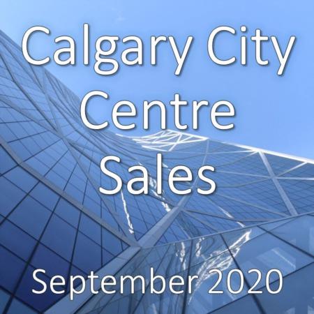 Calgary City Centre Housing Market Update September 2020