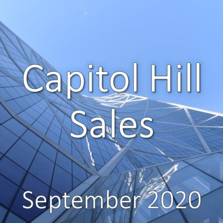 Capitol Hill Housing Market Update September 2020