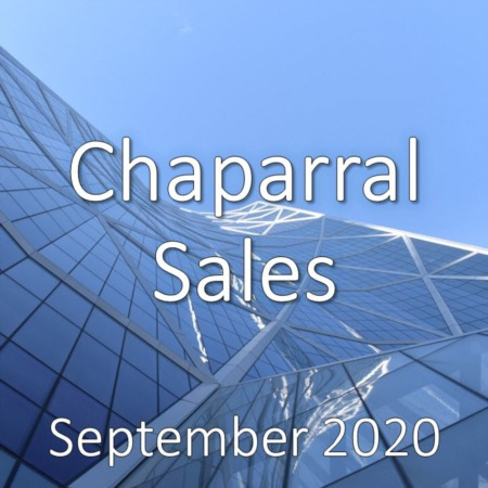 Chaparral Housing Market Update September 2020