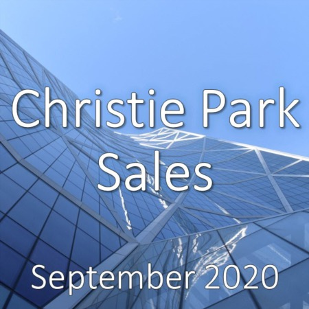 Christie Park Housing Market Update September 2020