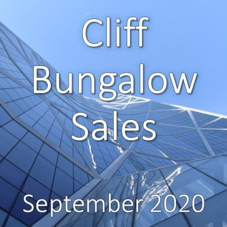 Cliff Bungalow Housing Market Update September 2020