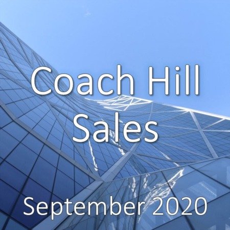 Coach Hill Housing Market Update September 2020