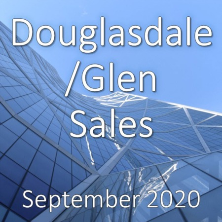 Douglasdale/Glen Housing Market Update September 2020